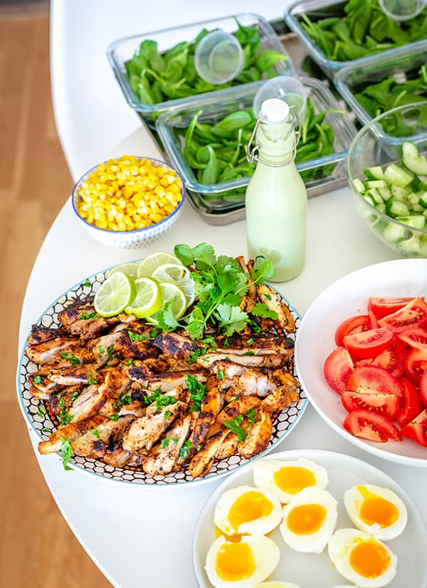 Grilled Lime Chicken and Avocado Salad ingredient