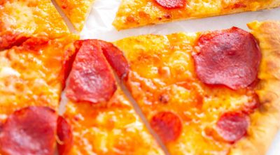 pepperoni pizza slices