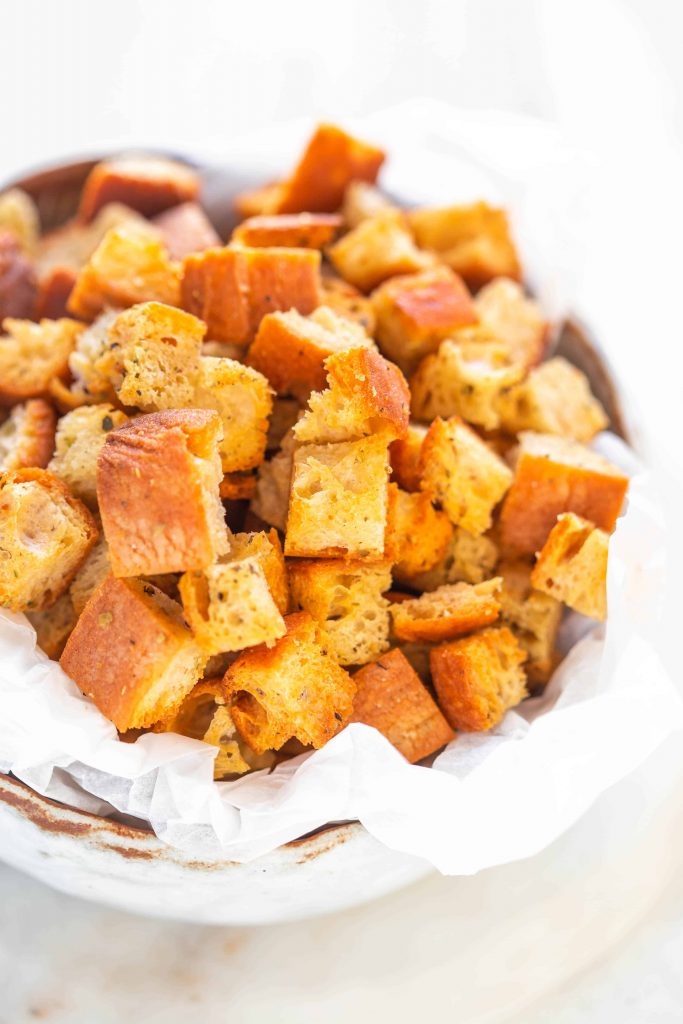 croutons for caesar salad