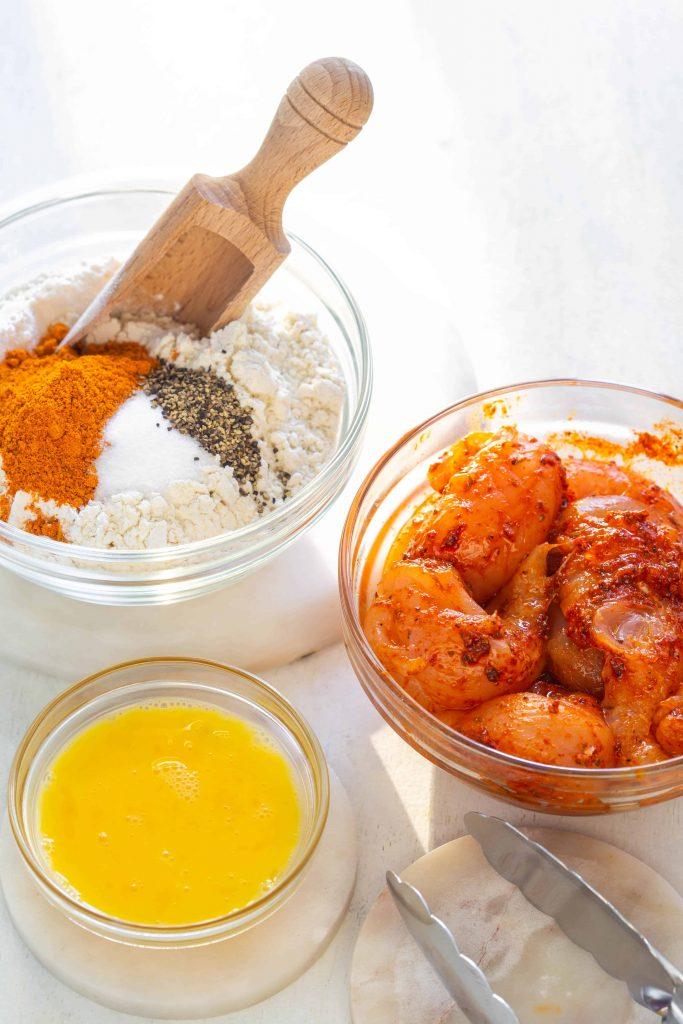 the spicy cajun marinated chicken tender ingredients