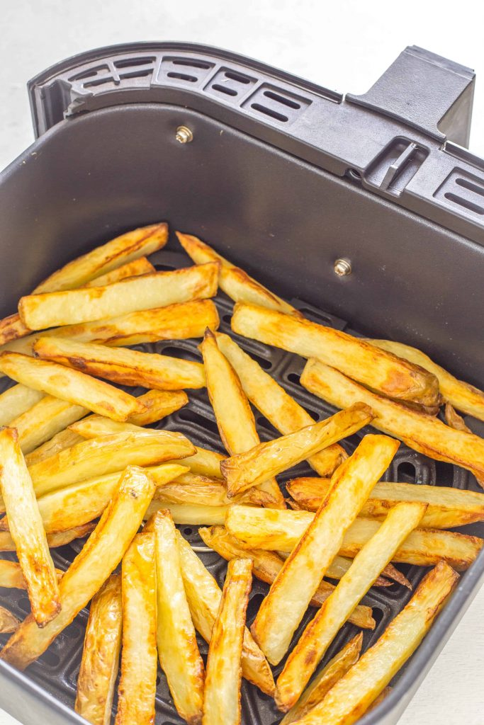 cooked air fryer french fries