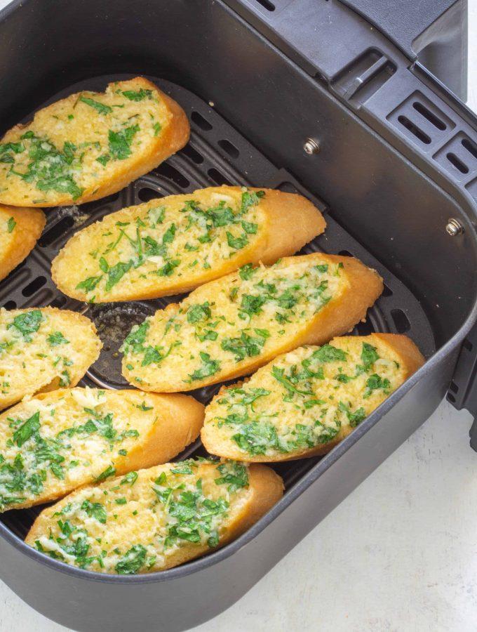 Homemade Air Fryer Garlic Bread